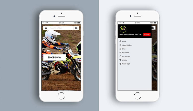 MX Zen motocross website